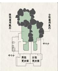 大露天風呂(間取り)